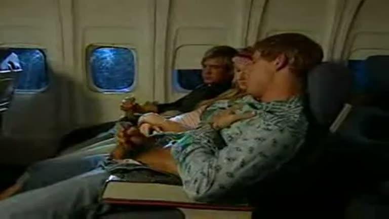 Trepando no avião