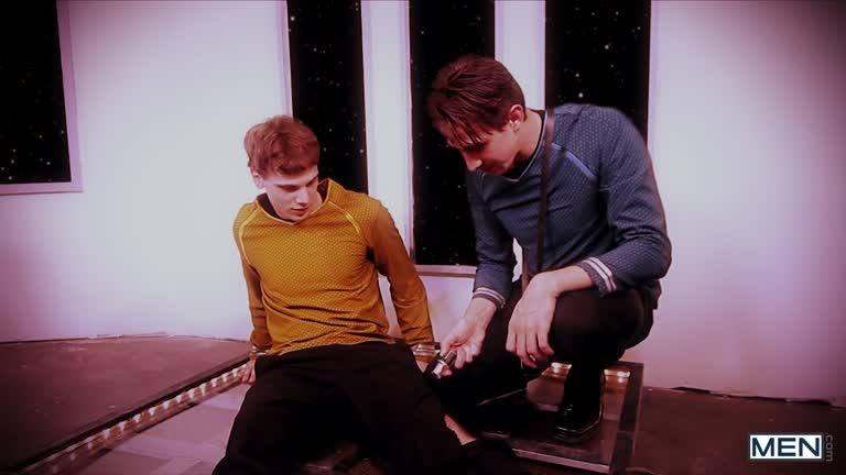Star Trek: A Gay XXX Parody - Part 1 - Brendan Donny Jack Jordan Rod