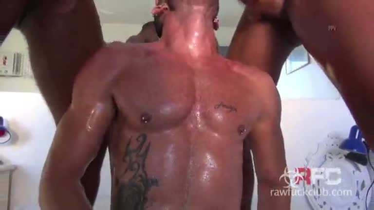 {Raw Fuck Clube} Twins Demolish Andy Estrela - Pt 1