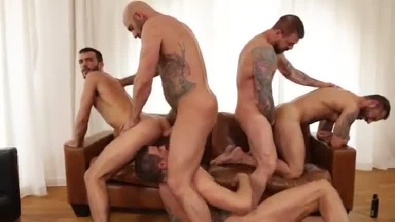 Rocco Steele, Pedro Andreas, Drew Sebastian, Dolf Dietrich & Alejandro Alvarez