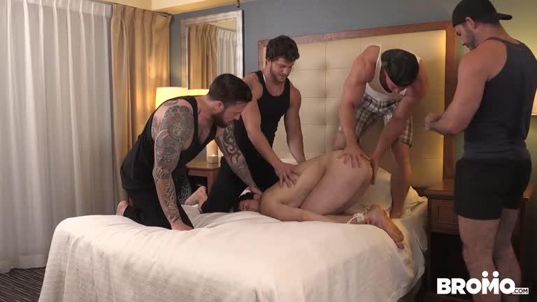 Billy Santoro, Jordan Levine, Beau Warner, Ashton McKay & James Edwards