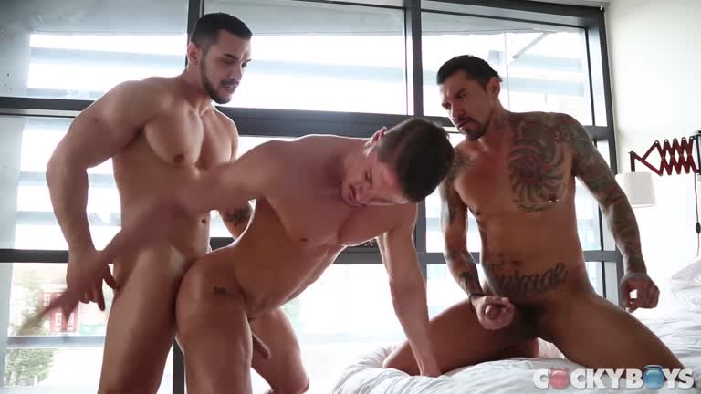 Double-fucked by Boomer Banks and Arad WinWin