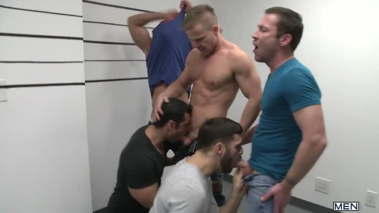 MEN - Trevor Knight, Tommy Defendi, Landon Conrad, Marcus Ruhl & Liam Magnuson