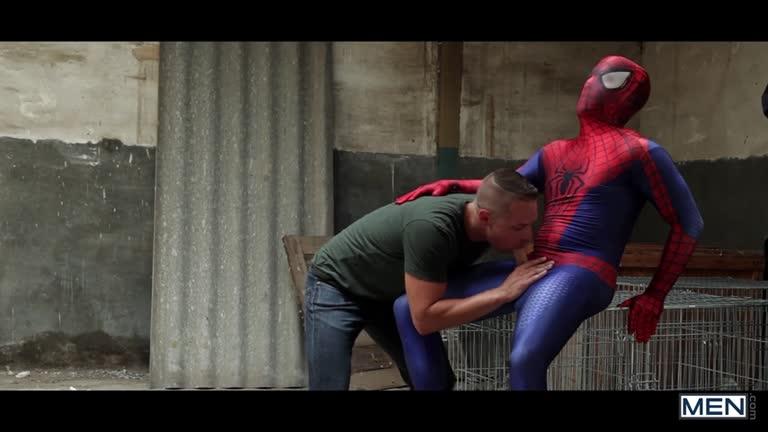 Spiderman A Gay XXX Parody Part 2