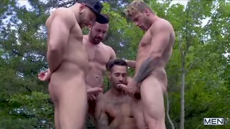 suruba na floresta