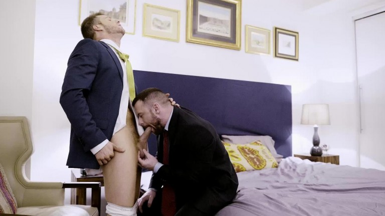 Sergeant Miles Dominates Brian Bonds' Ass