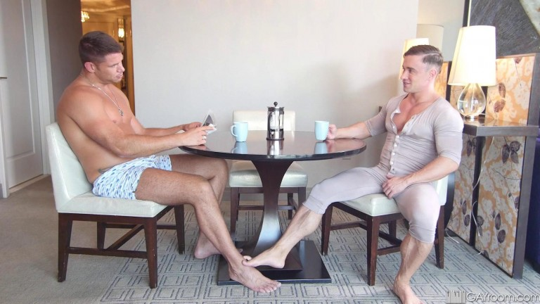 Thick Cock With My Coffee Cup - Alexander Volkov rides Tyler Roberts