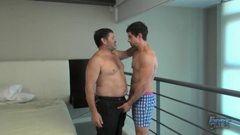 My First Daddy - Your Muscles Love My Dick - Igor, Victorino