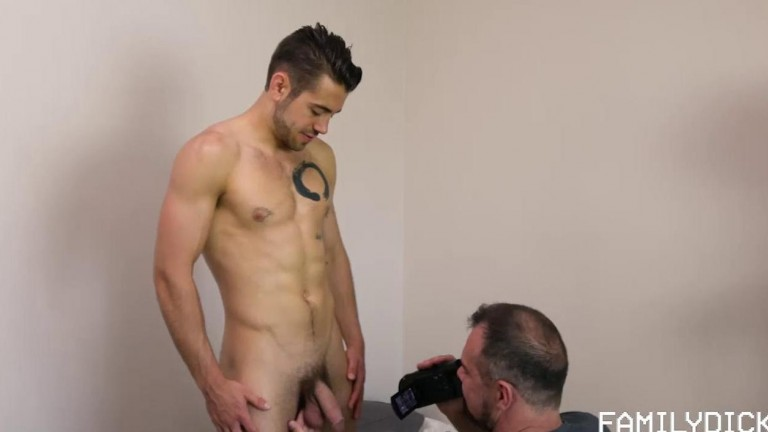 Family Dick Chapter 2 - My Dad's A Pervert Dad Fucks Son's College Roommate Dante Colle, Max Sergeant & Colin Smith