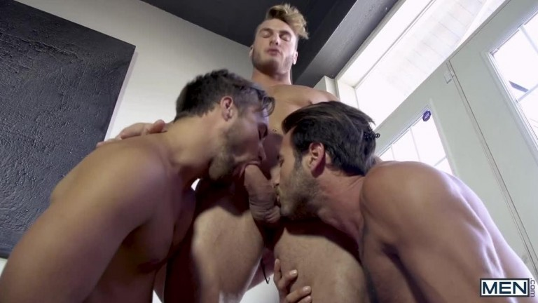 MEN - William Seed, Zack Hunter, Samuel Stone and Dean Stuart