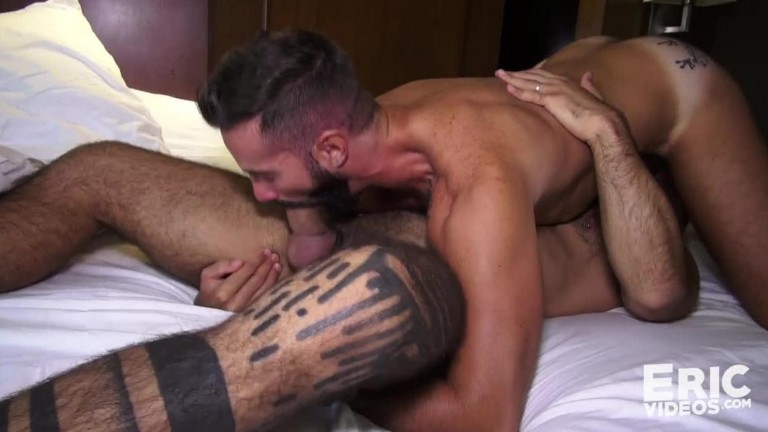 Hard Dick in Hand, Teddy Waits for Dani Robles